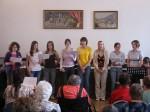 Knínický sboreček koncertoval v ÚSP Šebetov